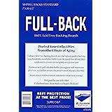 E. Gerber Full Back Boards - Standard - 50ct Pack