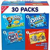 Nabisco Team Favorites Variety Pack, OREO Mini, CHIPS AHOY Mini, Teddy Grahams Honey & Barnum's Animal ers, 30 Snack Packs