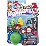 Transformers Toys Botbots Series 2 Music Mob 5 Pack – Mystery 2-in-1 Collectible Figures! Kids Ages 5 & Up (Styles & Colors M