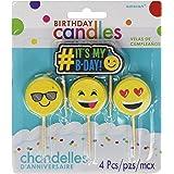 Emoji Birthday Candles | Party Supply