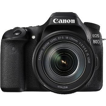 Canon デジタル一眼レフカメラ EOS 80D レンズキット EF-S18-135mm F3.5-5.6 IS USM 付属 EOS80D18135USMLK