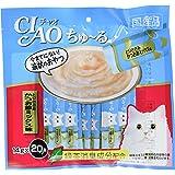 チャオ (CIAO) 猫用おやつ ちゅ~る とりささみ かつお節ミックス味 14g×20本入