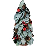 40cm Tree with Acorns, Berries And Real Leaves