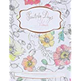 Painterly Days Flowers: The Flower Watercoloring Book for Adults: 1