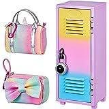 Real Littles Locker + Handbag Bundle Pack! Each Pack Contains an Exclusive Locker, Duffle Bag + 15 Surprises Plus an Exclusiv