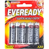 Eveready Super Heavy Duty 1215BP-8 AA, 8ct