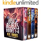 Hell's Rejects, Books 1-4 Box Set (M.R. Forbes Box Sets)