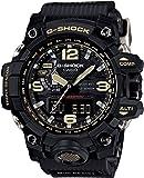[カシオ] 腕時計 ジーショック MUDMASTER 電波ソーラー GWG-1000-1AJF ブラック