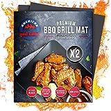 BBQ Premium Grill MAT (Black)