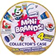 5 Surprise Mini Brands Collector's Case Series 2 (Comes with 4 Exclusive Minis) 4 Exclusive Minis by ZURU, 7785