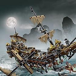 LEGO(レゴ)の人気壁紙画像 パイレーツオブカリビアン サイレント・メアリー号
