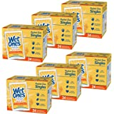 Wet Ones Antibacterial Hand & Face wipes, Citrus Scent Singles, 24Count, Pack Of 6