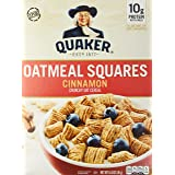 Quaker Oatmeal Square Cereal, Cinnamon, 411 G
