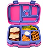 Bentgo Kids Brights – Leak-Proof, 5-Compartment Bento-Style Kids Lunch Box – Ideal Portion Sizes for Ages 3 to 7 – BPA-Free a