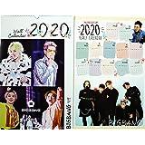 BIGBANG ビッグバン 大判 壁掛け カレンダー 2020年 (令和2年) + 年間カレンダー + ポストカード