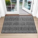 """Indoor Doormat, Non-Slip Absorbent Resist Dirt Entrance Rug, 32""""x48"""" Large Size Machine Washable Low-Profile Inside Floor Doo"""