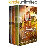 Three Brides on a Journey to the West: A Western Historical Romance Book Collection