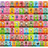 72 Pcs Animal Crossing New Horizons Amiibo Cards with Crystal Case NXP Chip