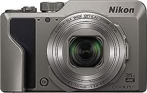 Nikon デジタルカメラ COOLPIX A1000 SL 光学35倍 ISO6400 アイセンサー付EVF クールピクス シルバー A1000SL