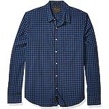 Lucky Brand Men's Long Sleeve Button Up One Pocket Ballona Shirt