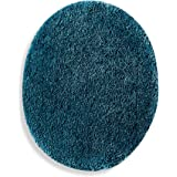 Wamsutta Duet Elongated Toilet Lid Cover in Teal