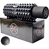 Endo-X 3-in-1 Deep Tissue Massage Foam Roller Set | Outer Roller With Hollow ABC Core + 100% EVA Latex Free | Multi-Density M