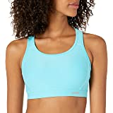 Amazon Essentials Women's Molded Cup Racerback Sports Bra with Power Mesh Back