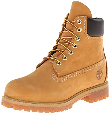 Waterproof 6 Inch Premium Boot: 10061 Wheat Nubuck
