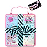 LOL Surprise Deluxe Present Surprise (Pink) with Limited Edition Doll and Pet In Party Gift Box Packaging With Surprise Treat