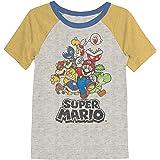 Jumping Beans Boys 4-10 Nintendo Super Mario Bros. Rad Raglan Graphic Tee