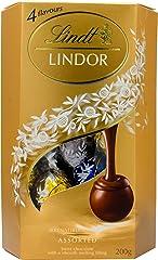 Lindt Lindor Cornet, Assorted Chocolate, 200g