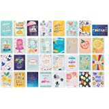 American Greetings Deluxe All Occasion Cards with Envelopes and Assortment Box, Birthday, Wedding, Thanks and More (32-Count)