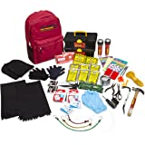 Best Overall Disaster & Emergency Survival Kit Professional & Heavy Duty Backpack – Ideal For Earthquakes/Floods/Hurricanes –