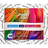 Poetry Tiles - 536 Emotions and Romance Fridge Word Magnets - Themed Kit for Refrigerator Poems and Stories