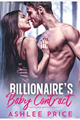 Billionaire's Baby Contract (Hawthorne Brothers Book 1) Kindle Edition