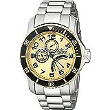 インヴィクタ Invicta Men's 15337 Pro Diver Gold Dial Stainless Steel Watch [並行輸入品]