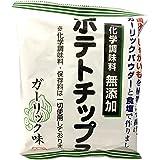 深川油脂工業 化学調味料無添加ポテトチップス ガーリック味 55g×12袋