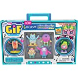OH! MY GIF Moving Collectibles Toy with 6 Exclusive Dancing GIFbits