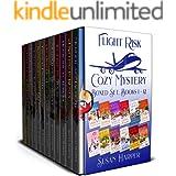 Flight Risk Cozy Mystery Boxed Set: Books 1 - 12