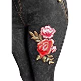Makkat Denim Leggings with Pockets - Women Comfy Slim Fit Jeans