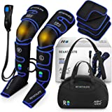 Reathlete Leg Massager, Air Compression for Circulation Calf Feet Thigh Massage, Sequential Boots Device with Handheld Contro