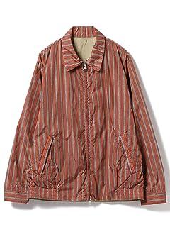 Reversible Nylon Blouson 11-18-4034-139: Stripe