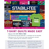 """Stabili-TEE Fusible Interfacing 60"""" x 72"""" pack: T-Shirt Quilts Made Easy"""