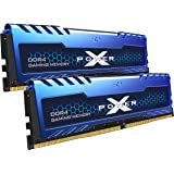 Silicon Power 16GB (8GBx2) XPOWER Turbine Gaming DDR4 3600MHz (PC4 25600) 288-pin CL18 1.35V UDIMM Desktop Memory Module (SP0