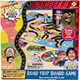 Far Out Toys Ryan's World Road Trip Board Game | Includes Collectible Figurines, Micro Figure Cards, and Surprise Suitcase Ti