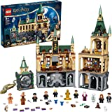 LEGO 76389 Harry Potter Hogwarts Chamber of Secrets Modular Castle Toy with The Great Hall, 20th Anniversary Set with Collect