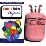 HELIUM BALLOON TANK: Disposable Helium Balloon Gas 13.4l Tank [Filled Locally in Singapore]