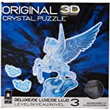 Bepuzzled Pegasus Original 3D Deluxe Crystal Puzzle - Fun Yet challenging Brain Teaser That Will Test Your Skills and Imagina