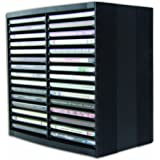 Fellowes CD Storage Unit, Holds 30 Discs