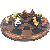 スターウォーズ ギャラクシーのエッジ デジャリック ボードゲーム 8つのフィギュアとチェッカー付き